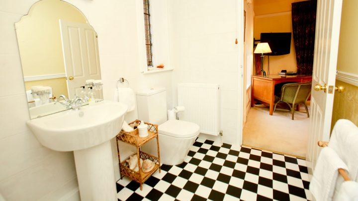 An Old Rectory Bathroom