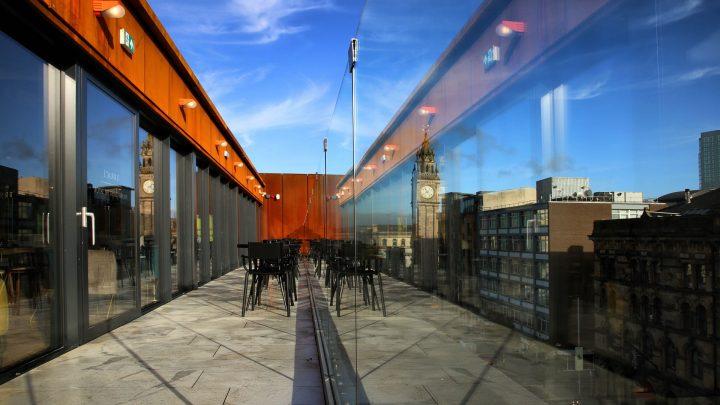 Babel Belfast Outdoor Terrace