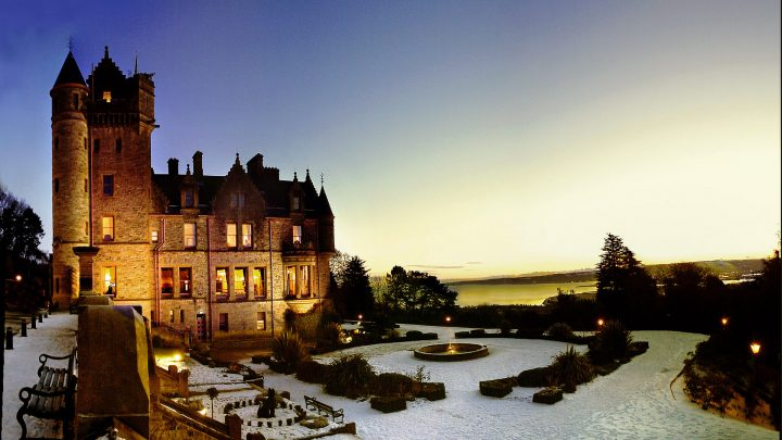 Belfast Castle Winter Sunset