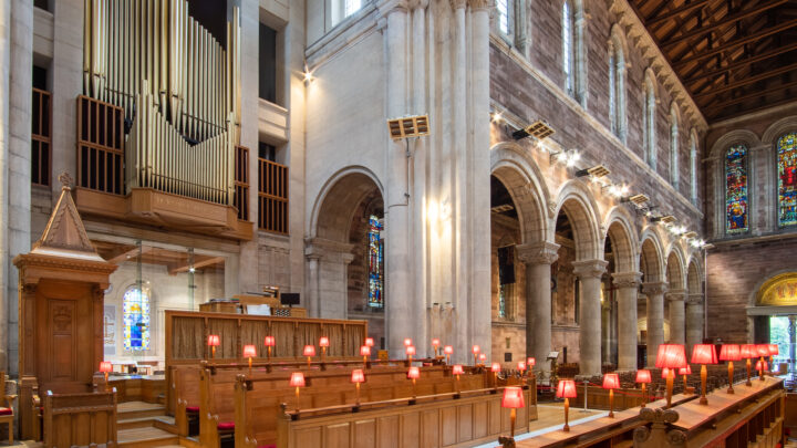 Belfast Cathedral Organ Candlesjpg