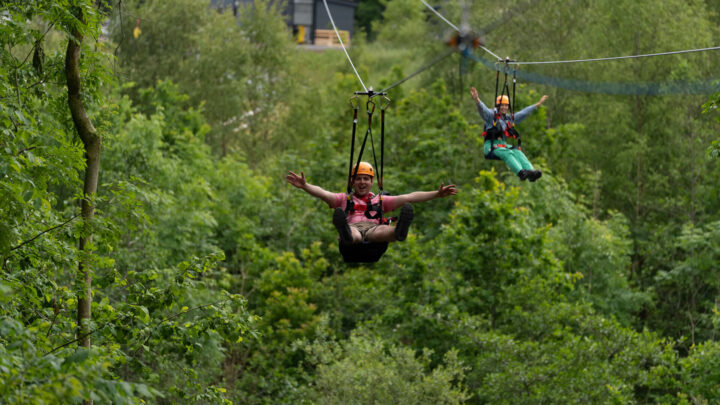 Colin Glen Forest Flyover Zipline