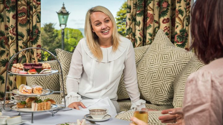 Culloden Hotel afternoon tea