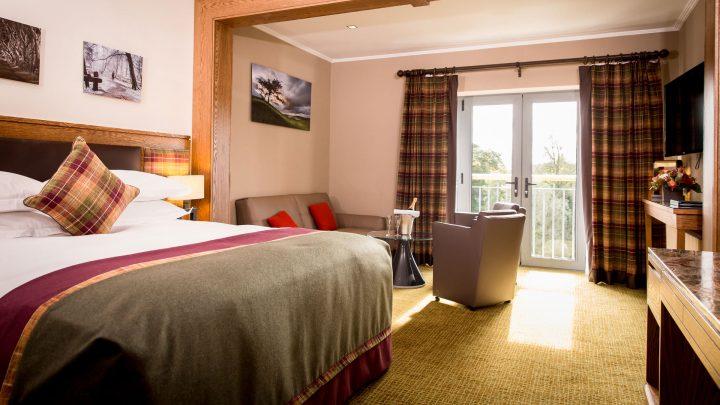 Deluxe Guestroom at Galgorm Resort