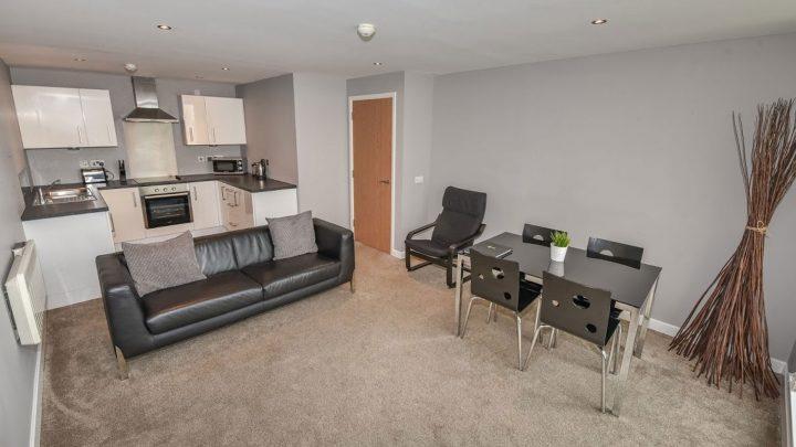 Dream Apartments Belfast Living Room