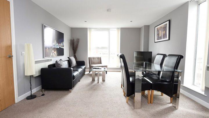 Drean Apartments Belfast Living Room