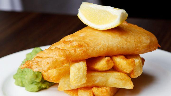 Errigle Inn fish and chips