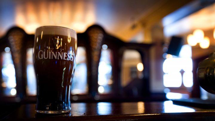 Errigle Inn pint of Guinness