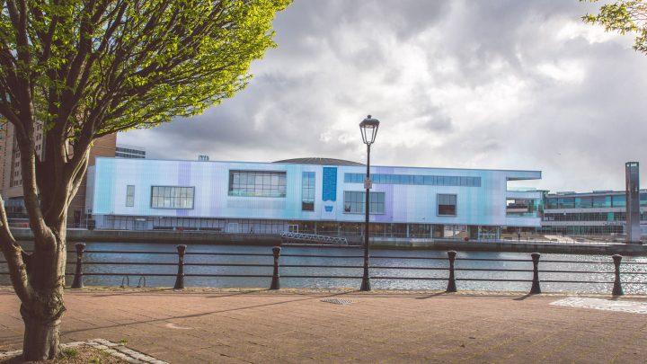 Exterior Riverside View Belfast Waterfront