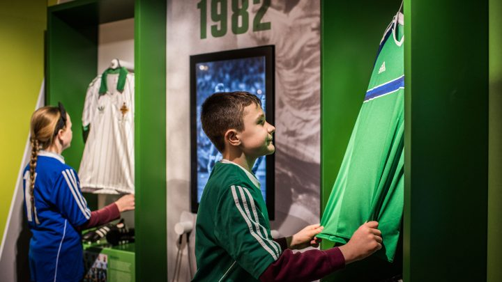Football Jerserys on Display at IFA Education and Heritage Centre