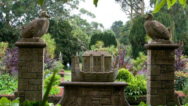 Garden Statues at Mount Stewart