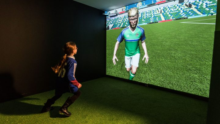Interactive Football Training at IFA Education and Heritage Centre