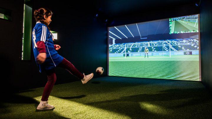 Penalty Kicks at IFA Education and Heritage Centre