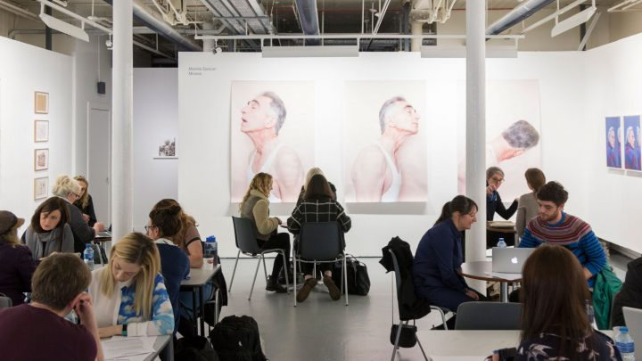 Speed Curating at Belfast Exposed