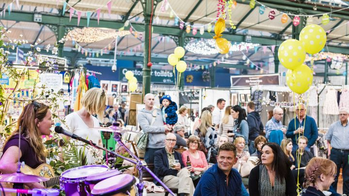 St George's Market crowd