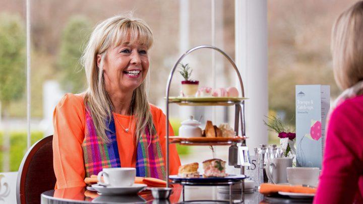 Stormont Hotel afternoon tea