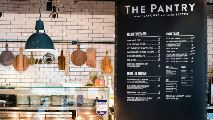 The Pantry at Titanic Belfast