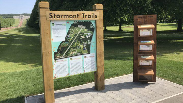 Stormont Estate Trail Map