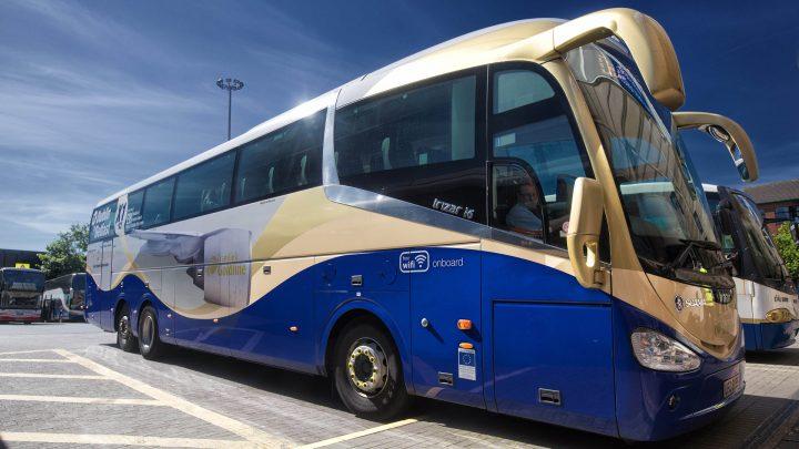 Translink Goldliner bus