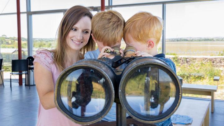 castle espie binoculars