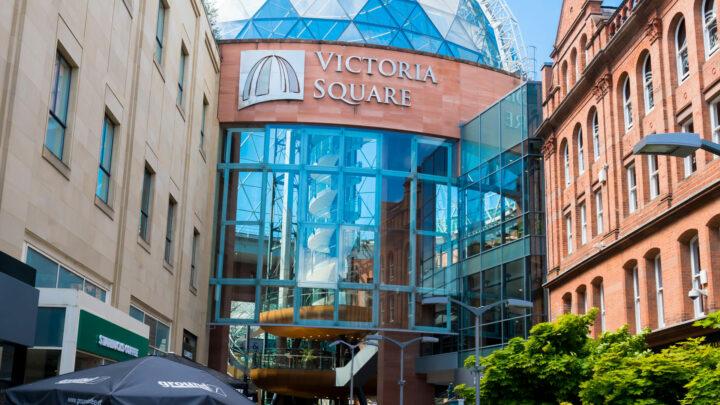 outside victoria square