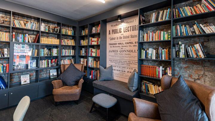 James Connolly Centre Library