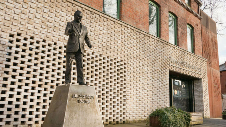 James Connolly Centre Statue