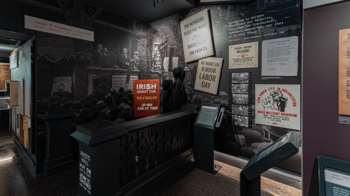 James Connolly Visitors Centre Exhibition