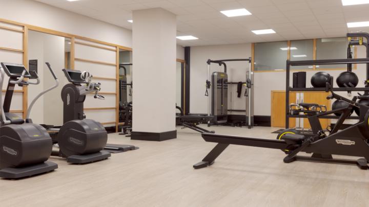 Hilton Hotel Gym 2019