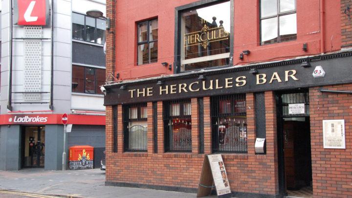 If Buildings Could Talk Tour Hercules Bar