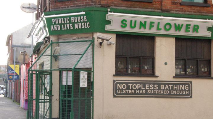 If Buildings Could Talk Tour Sunflower Bar