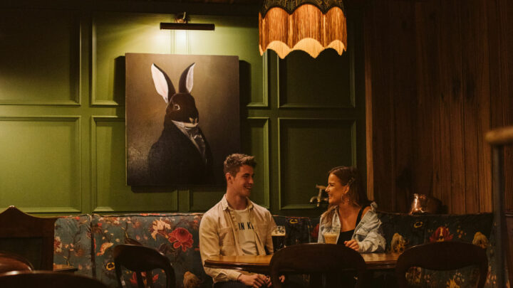 The Rabbit Hotel Couple
