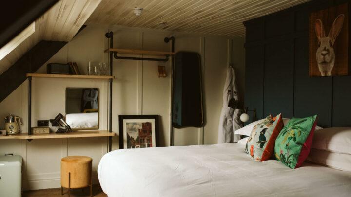 The Rabbit Hotel Guestroom