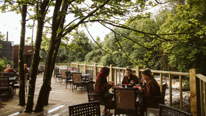 Galgorm Hotel and Spa River Deck