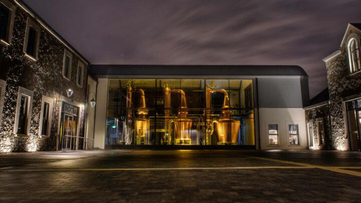 Hinch Distillery Courtyard