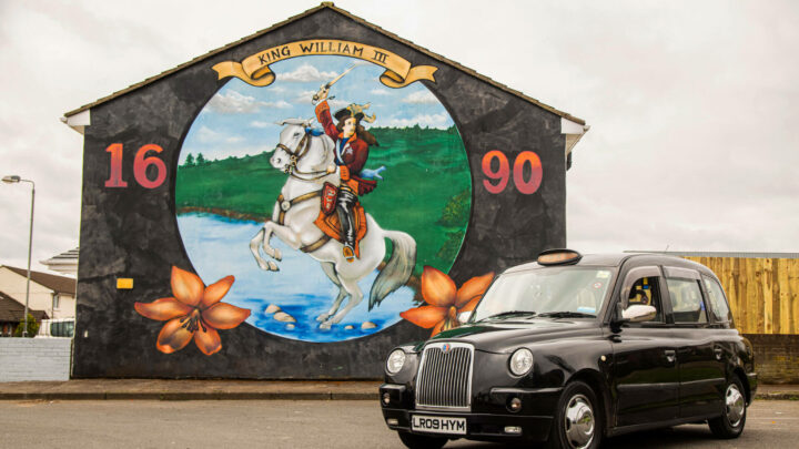 Cab Tours Belfast Mural