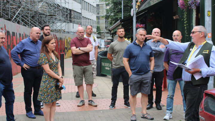 Belfastlad Tours Brewery Quarter